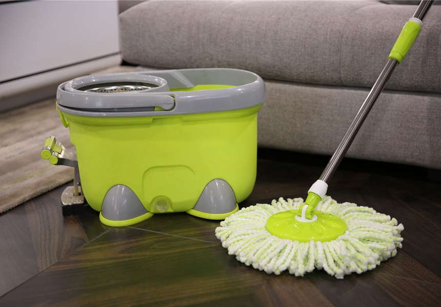 KXY-JJY 360 spin mop with foot pedal