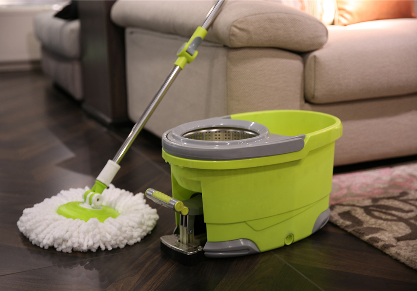 KXY-JHT 360 spin mop with foot pedal
