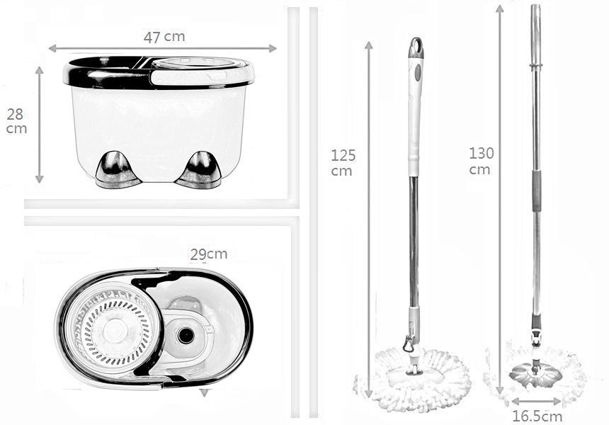 KXY-MM 360 spin mop