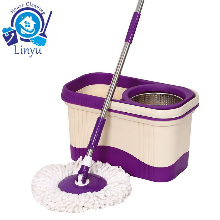 double color spin mop