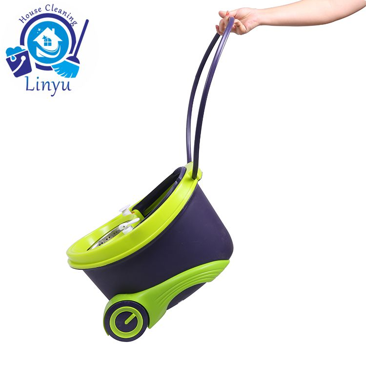 mop with wheels