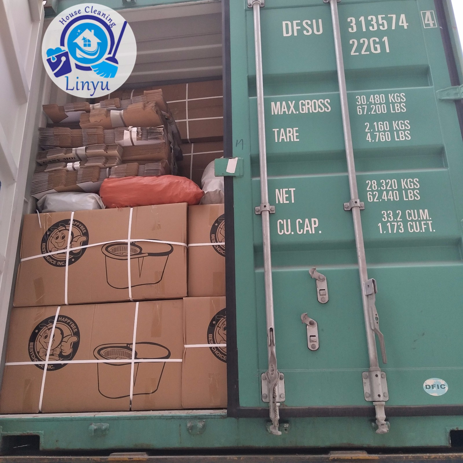 Container loading for Bolivia