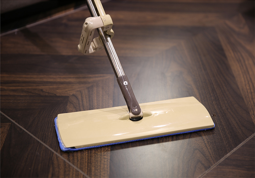 How To Deal With Smelly Deluxe Rolling Spin Mop