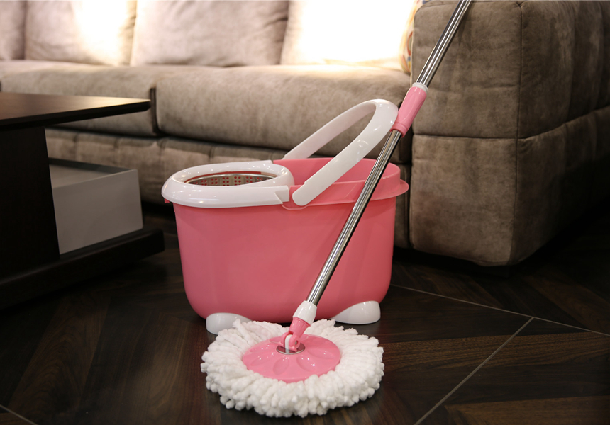 Double Drive Spin Mop Set
