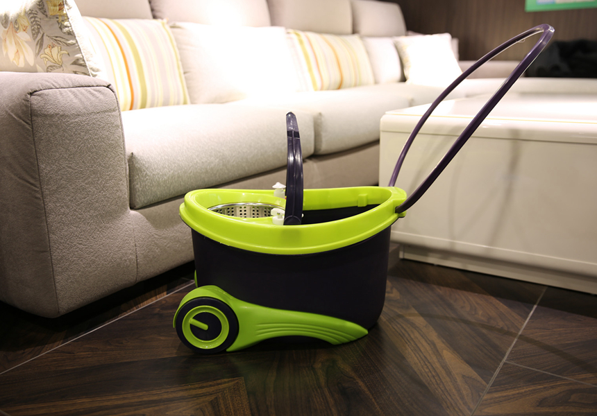 Double Drive Hand Pressure Spin Mop