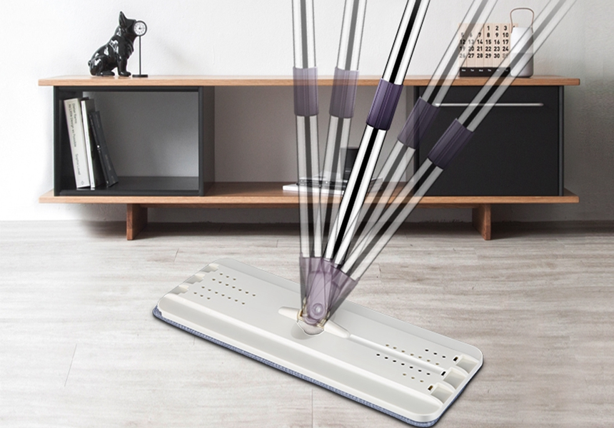 Household Stainless Steel Spinning Mop Bucket