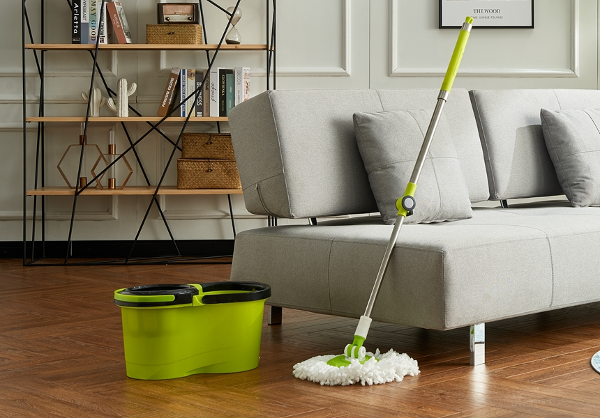 360 Spin Mop With Wheels