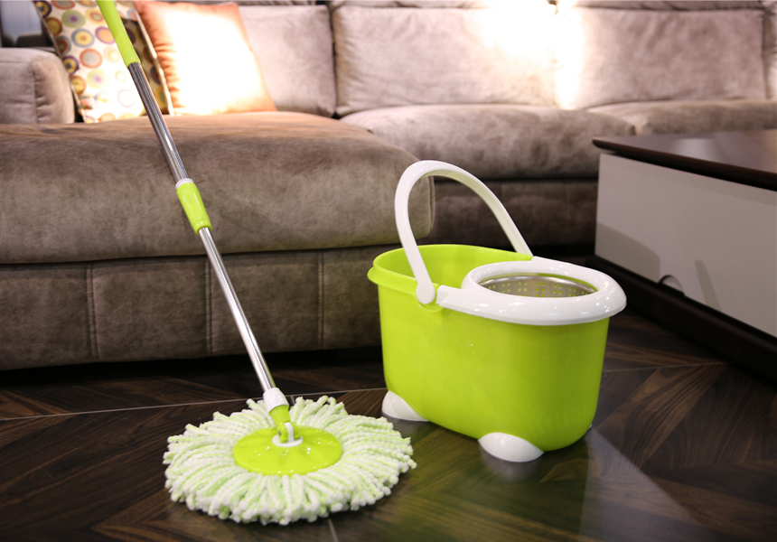 Mop With Foot Pedal Bucket