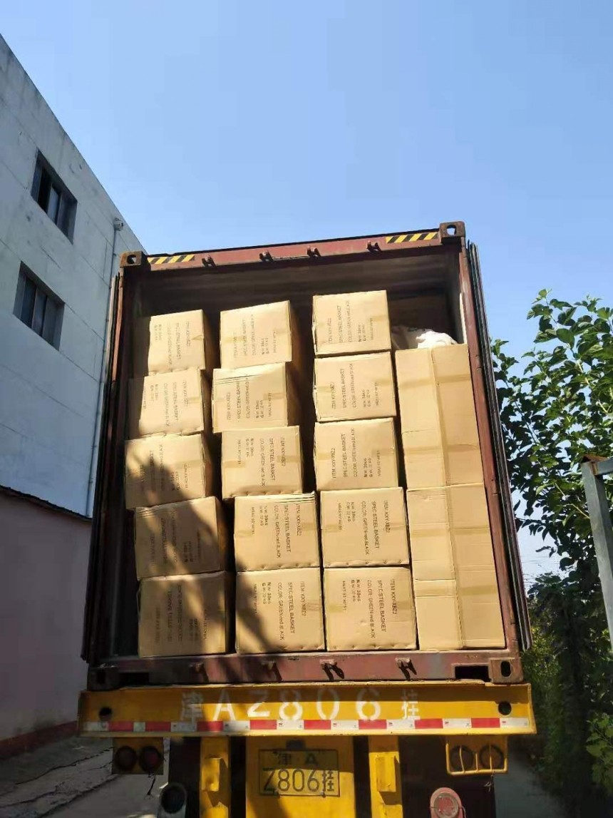 New container loading for Argentina customer