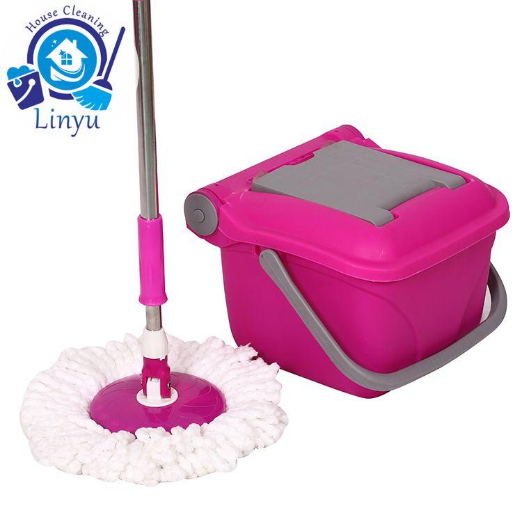 folding bucket mop