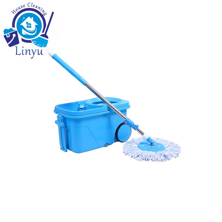 spin mop video