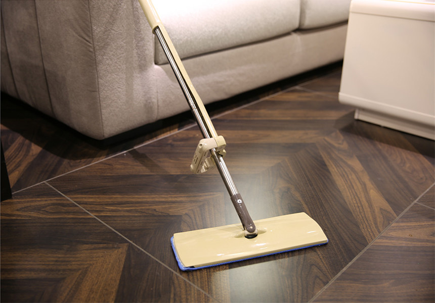 KXY-MSX Self-Wringing Double Sided Flat Mop