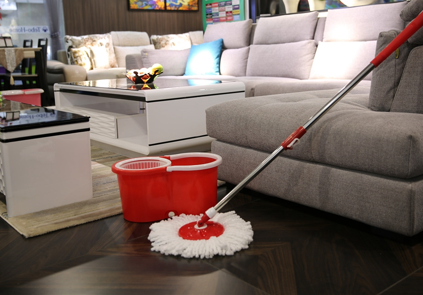 XKY-XBZ2 cleaning mop magic spin mop 360