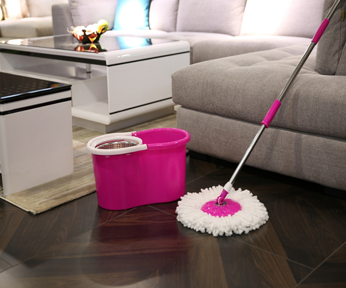 Household Twist Mop Has Strong Water Absorption