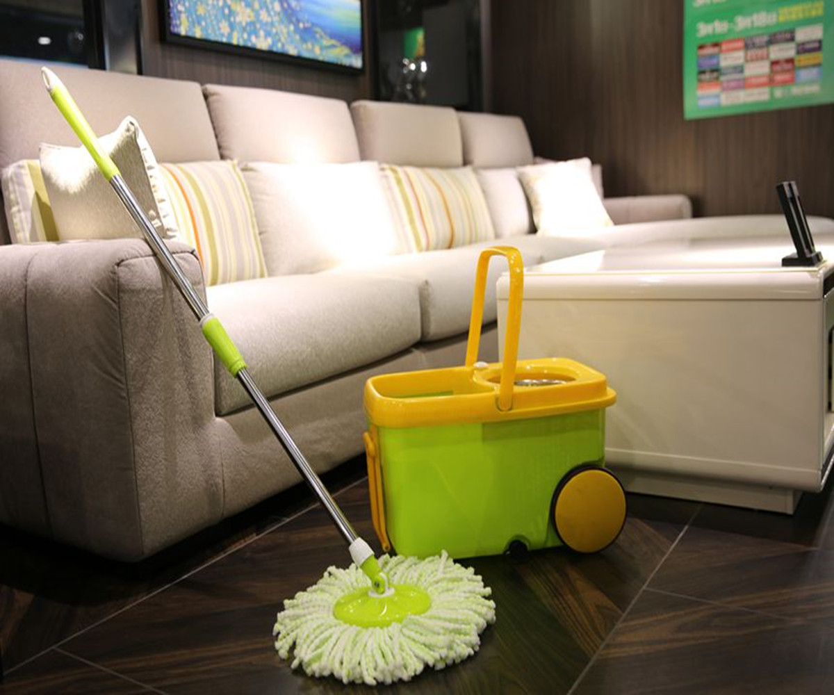 How Is The Deluxe 360 Spin Mop Manufacturer Decontaminated?