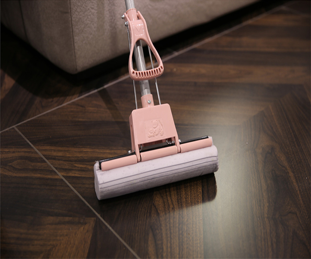 How To Do With Double Drive Hand Pressure Spin Mop Mold?