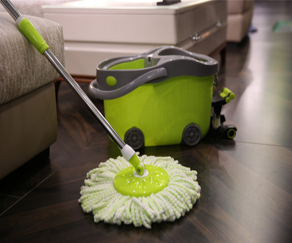 What Are The Different Parts Of 360 Rotating Mop?